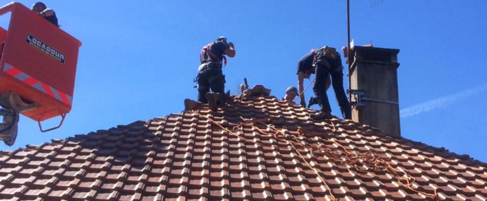 La détérioration des toitures