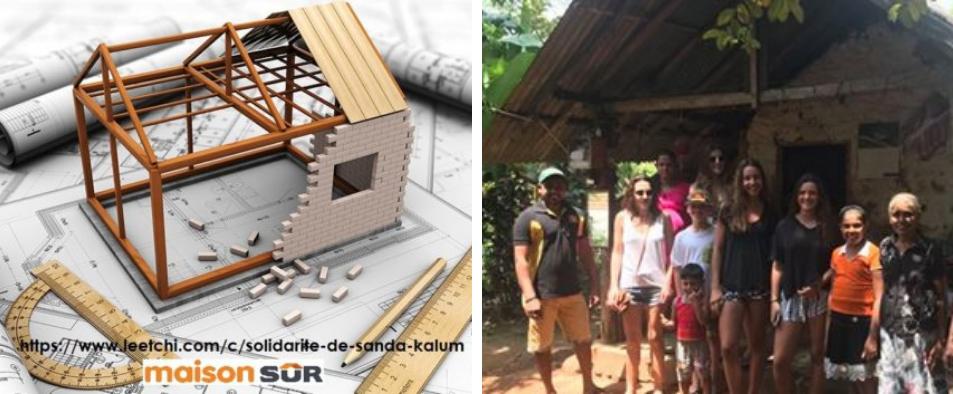 Opération un toit au Sri Lanka