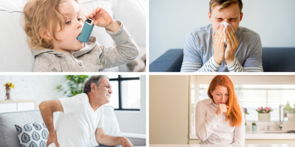 L'humidité provoque des maladies chez les adultes et les enfants