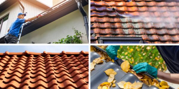 comment procéder au nettoyage de toiture