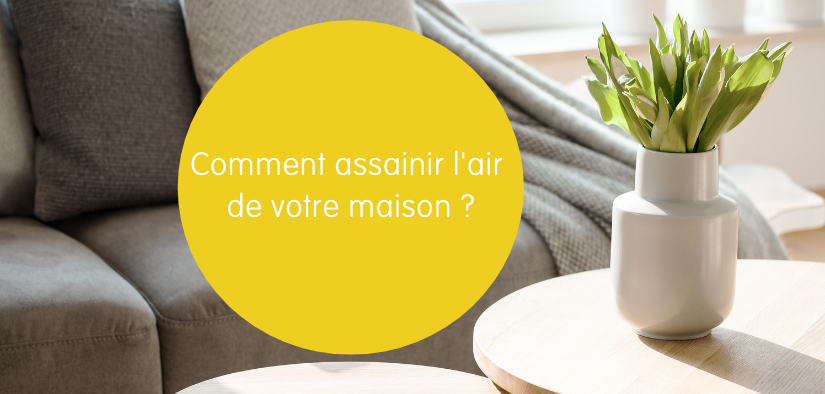 Comment assainir l'air de votre maison ?