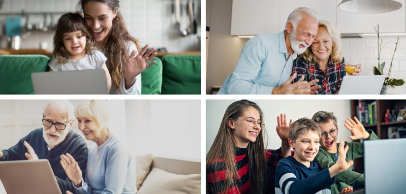 Pour garder le contact avec vos aînés découvrez 3 appreils d'appels vidéo