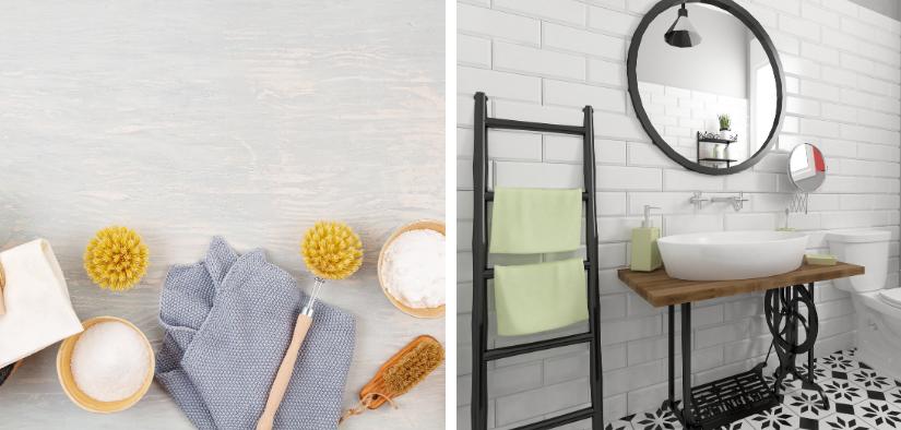 Nettoyer sa salle de bain avec des produits écologiques