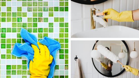 Recettes simples pour nettoyer votre salle de bain