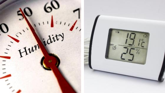 Appareils pour mesurer taux d'humidité dans une maison