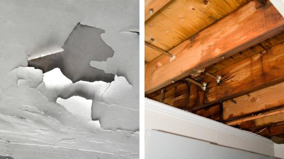 Signes et causes d'une mauvaise étanchéité du toit