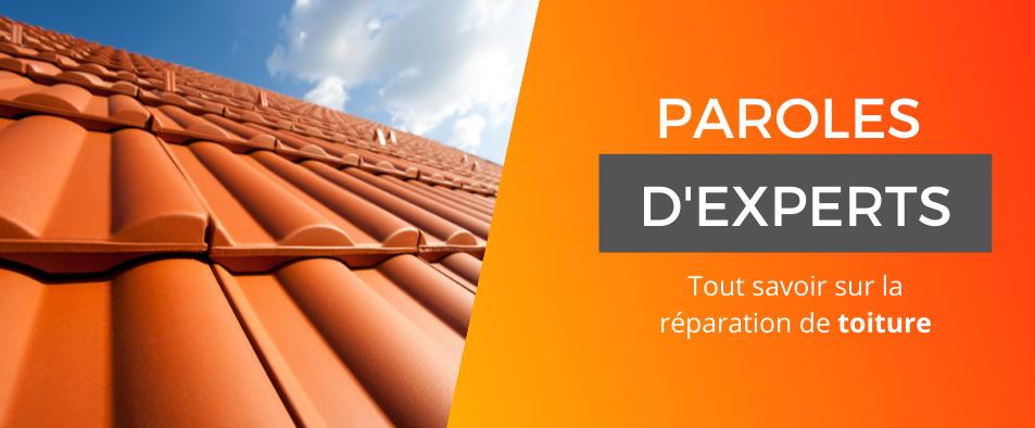 Expertise réparation de toiture