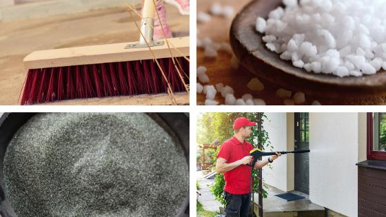 Produits pour nettoyage murs extérieurs maison