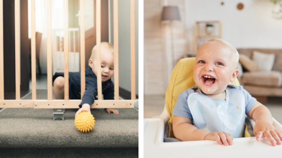 éviter les risques de chutes des enfants dans la maison